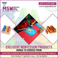 Montessori Supply Haryana ---------------------------------------------------------------------- Come & visit www.in to explore whole new range of or call : 92136 80594 Teaching Aids, Montessori Materials, Preschool, Range, Explore, Cookers, Kid Garden, Kindergarten, Preschools