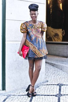 When Africa met Asia (by Wilma Rossana Nicole) http://lookbook.nu/look/4104156-When-Africa-met-Asia