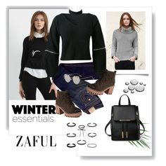 """""""Winter Essentials:/Zaful27"""" by rose-99 ❤ liked on Polyvore featuring True Religion"""