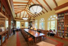 Library Interior Design Award | Project Title: Library and Archives at Cold Spring Harbor Laboratory | Project Location: Cold Spring Harbor, NY | Firm: Centerbrook Architects and Planners, Centerbrook, CT | Category: Outstanding Historical Renovation Project | Award: Best of Category