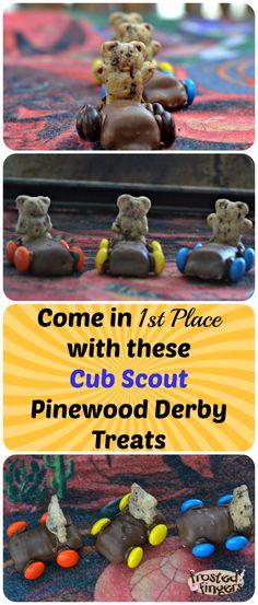 Cub Scout Pinewood Derby Treats