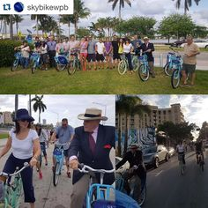 #Repost @skybikewpb with @repostapp.  We had a fun & eventful 5-mile #ride with the @westpalmbch Downtown Neighborhood Association last night! Riders learned about safety & bicycle laws while pedaling from @downtownwpb to El Cid & Grandview Heights neighborhoods.  Well catch you on the next ride!   #BikeRide #happyhour #skybikewpb #ilovewpb #latergram #ilovewpb #skybike #westpalmbeach #wpb #downtownwpb #thingstodo #letsgoforaride #social #southflorida #fun #bike #bikelife #explore #takearide…