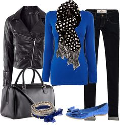 """Comfy Winter Blues"" by heather-rolin on Polyvore"