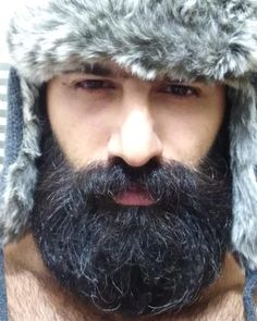 for men who love long bearded men Beard And Mustache Styles, Beard No Mustache, Hair And Beard Styles, Great Beards, Awesome Beards, Moustaches, Walrus Mustache, Different Beard Styles, Beard Head
