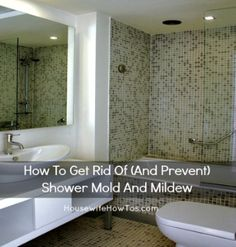 How To Get Rid Of Shower Mold And Mildew - Housewife How-To's®