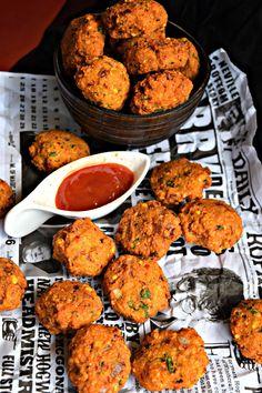 Masala Dal Vada/Lentil Fritters - Cookilicious