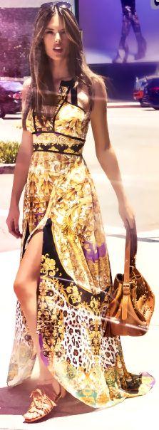 Alessandra Ambrosio LIKE | PIN | FOLLOW! #skirt #dress #pants #shorts #bikini #sunglasses #shoes #lingerie #hair #bag #crochet #tattoo #gold #kiss #sex #sexy #hot #girl #woman #sensual #like #erotic #fashion