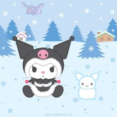 If I were in Sanrio. I would be her, Chococat and Hello Kitty!