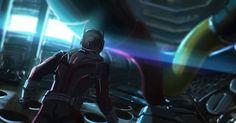 Concept art of 'Ant-Man' inside 'Iron Man's armor in 'Captain America: Civil War' Iron Man Armor, Captain America, Pop Culture, Concept Art, Jackson, Darth Vader, Marvel, War, Instagram Posts