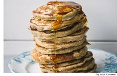 Recipe: Honey Oat Pancakes
