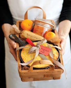 breakfast for two in a basket