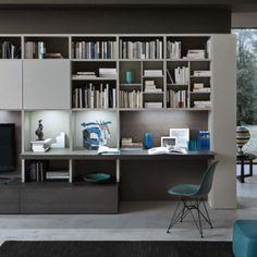 libreria con scrittoio integrato 250 300 home