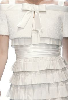 ♥♥   RUFFLES & SILK BY #VALENTINO #COUTURE