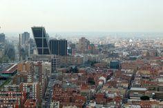 Madrid a vista de pájaro. #madrid #turismo #viajes #travel