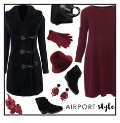 """#airport style#gagi273"" by gagi273 ❤ liked on Polyvore featuring Repeat, Marni, M&Co and contestentry"
