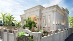View full picture gallery of Architectural Consultant In Dubai Katrina Antonovich Classic House Exterior, Classic House Design, House Front Design, Modern House Design, Interior Design Dubai, Luxury Interior, Architectural Consultant, Villas, Dubai Houses