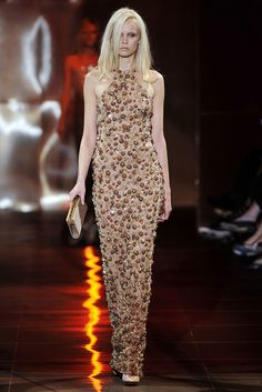 Armani Privé Fall 2010 Couture Fashion Show - Veronika Pospisilova