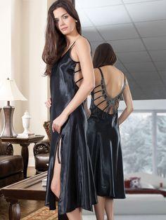 Miorre satin nightdress