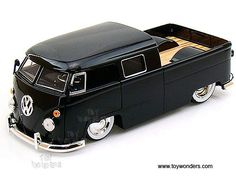 Jada Toys Bigtime Kustoms - Volkswagen Bus Pickup (1963, 1/24 scale diecast model car, Asstd.) 91250