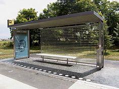 Prototype bus shelter by Bevk Perovic arhitekti, Slovenia. Visit the slowottawa.ca boards >> http://www.pinterest.com/slowottawa/