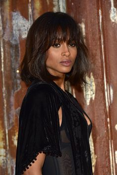 Pin for Later: Everything You Need to Know About the Sexy, Shaggy Way to Wear Bangs Ciara