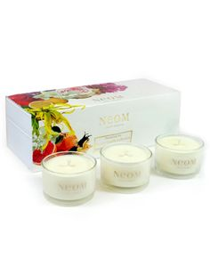 Beautiful Neom candle set