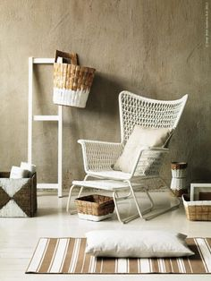 DIY Inspiration - Painted Baskets - Ad campaign by IKEA of Sweden
