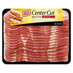 Oscar Mayer Center Cut Original Bacon 12 oz