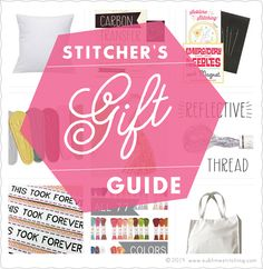 Sublime Stitching Gift Guide 2014!