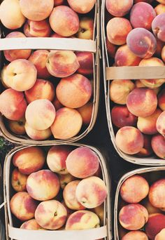 These peaches look perfect for Lavender Peach Punch on a hot summer afternoon. Check out the recipe here: http://www.pelindabalavender.com/lavender-peach-punch-recipe