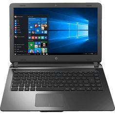"""Notebook HP 14-ap020 Intel Core i3 4GB 500GB Tela LED 14"""" R$ 1.619,99 ou 10x de R$ 180,00"""