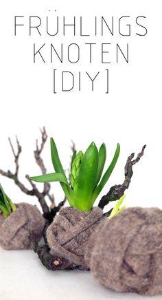 Frühlingsknoten [DIY] - Minza will Sommer