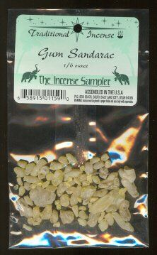 $5.95 - Gum Amazon.com: Gum Sandarac - 1/6 Ounce - Resin Incense: Beauty