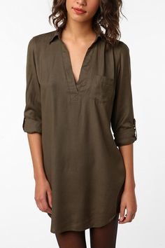 Urban shirt dress... got this in black today!
