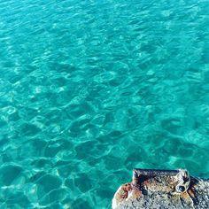 #molo #paros #mare #seaview #sea #mar #dawn #turquoise  #landscape_captures #learnminimalism #minnimal #view #perspective #moodoftheday #colorfull #summertime #trav3lr #travelphotography #viajes #viajando #mediterrean #saporedimare #picoftheday #estate #colors #minimalphoto