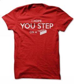 I Hope You Step - #shower gift #man gift