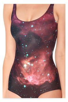 Galaxy Pink Swimsuit