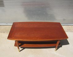 Vintage Coffee Table // Mid Century Danish Coffee by BankandPearl, $200.00