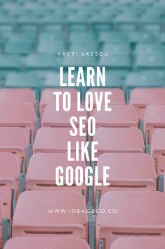 Learn to Love SEO like Google – IDEADECO #seo #bloggingtips #contentmarketing #digitalmarketing Digital Marketing Strategy, Social Media Marketing, Make A Calendar, Keyword Planner, Best Seo, Learn To Love, Creative Thinking, Digital Technology
