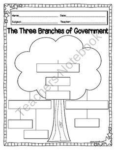 1000 images about 3rd grade social studies branches of government on pinterest branches of. Black Bedroom Furniture Sets. Home Design Ideas