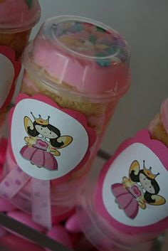 Cake Push Pops! How awesome is this? A must when Karleigh turns one!