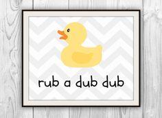 Rubber Duckie Bathroom Decor Awesome Children S Bathroom Art Print Rubber Duckie Chevron Duck Children S Kid S Bathroom Bath Rubber Ducky Bathroom, Duck Bathroom, Unisex Bathroom, Childrens Bathroom, Bathroom Bath, Bathroom Kids, Kids Bath, Bath Quotes, Girl Bathrooms