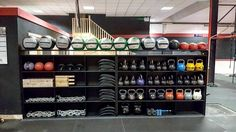 Storage at it's finest. Big thanks to @tdgymgear for the as per usual top quality product. #storage #kettlebells #wallballs #abmats #everythingreally #gym #bray #wicklow #brayandwicklowspremiergym #teamcsp