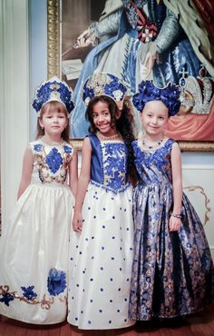#kids #dress #fantasy #mydream #цветы #дизайнер #ренессанс #renaissance #flowers #кукла #doll #платьеврусскомстиле #русскийстиль #russianstyle #kids #дети #jenkasfashion