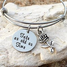 915603438 Tale as old as Time, Beauty and the Beast, Disney Jewelry, Disney Bracelet