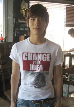 Jonghyun when he was young