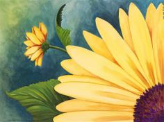 Daisy & A Quarter - Orig. acrylic painting on23x17.5 W/C paper, Framed #Realism Bids close in 6 hrs.
