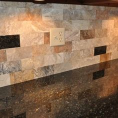Kitchen Backsplash Dark Granite backsplash ideas for black granite countertops and maple cabinets