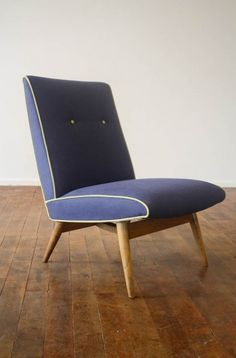 Anonymous; Lounge Chair by Parker Knoll, 1950s.