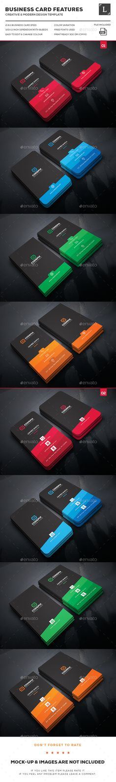 Shade Business Card Bundle — Photoshop PSD #designer #green • Available here → https://graphicriver.net/item/shade-business-card-bundle-/16345021?ref=pxcr